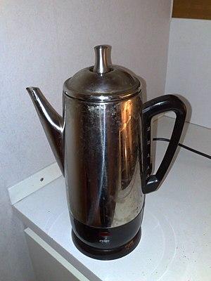Coffee percolator - Percolator