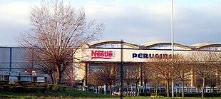 Lo stabilimento Nestlè-Perugina di San Sisto, Perugia