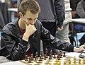 Peter Lalic playing chess, Surrey Congress, 2012.jpg