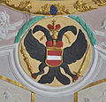 Pfärrich Pfarrkirche Chordecke Wappen Habsburg.jpg