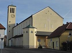 Pfarrkirche Herz Jesu (Teublitz).JPG