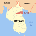 Ph locator bataan samal.png