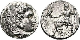 Perdiccas - Image: Philip III Arrhidaios Babylon mint struck under Perdikkas circa 323 320 BC