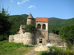 Pitareti Monastery - The monastic complex of Pitareti.