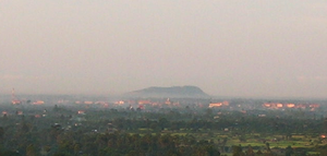 Phnom Krom - View of Phnom Krom at dawn.