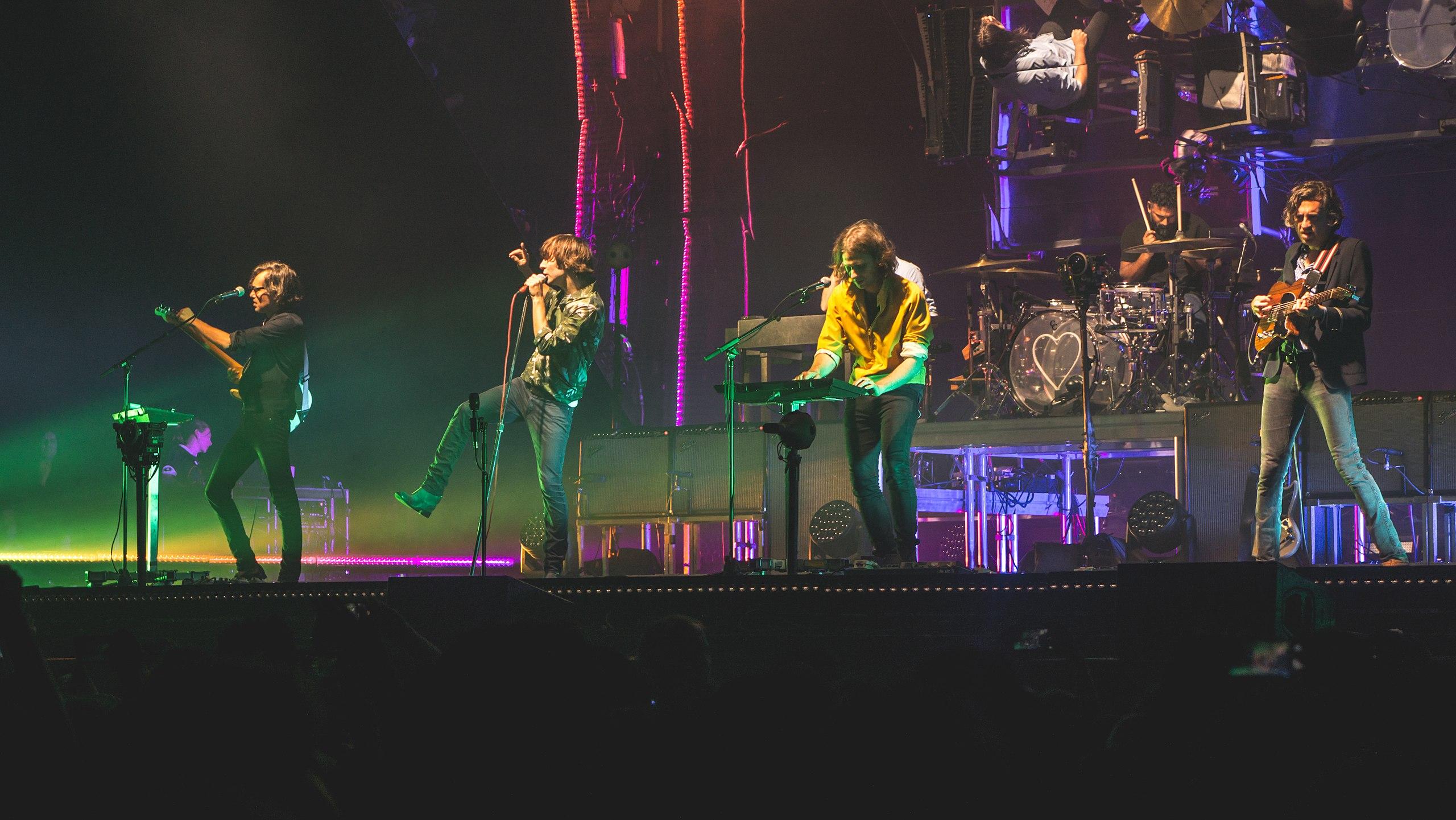 Phoenix performing live in 2017