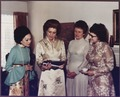 Photograph of Betty Ford and Three Unidentified Women Looking at Photographs - NARA - 186841.tif