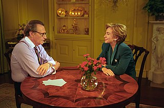 <i>Larry King Show</i> American radio talk show