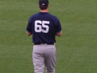 Phil Hughes - Hughes with the Scranton/Wilkes-Barre Yankees