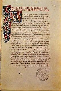 <i>De quinque corporibus regularibus</i> 15th century book on the geometry of polyhedra