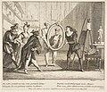 Pierrot and Scaramouche show the portrait of Harlequin MET DP815063.jpg