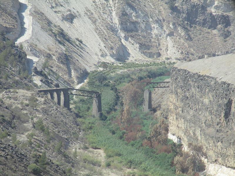 גשר הירמוך (אל-חמה) המפוצץ