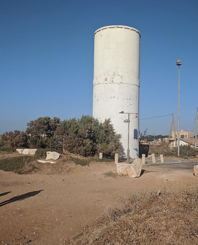 מגדל המים במצפה הים