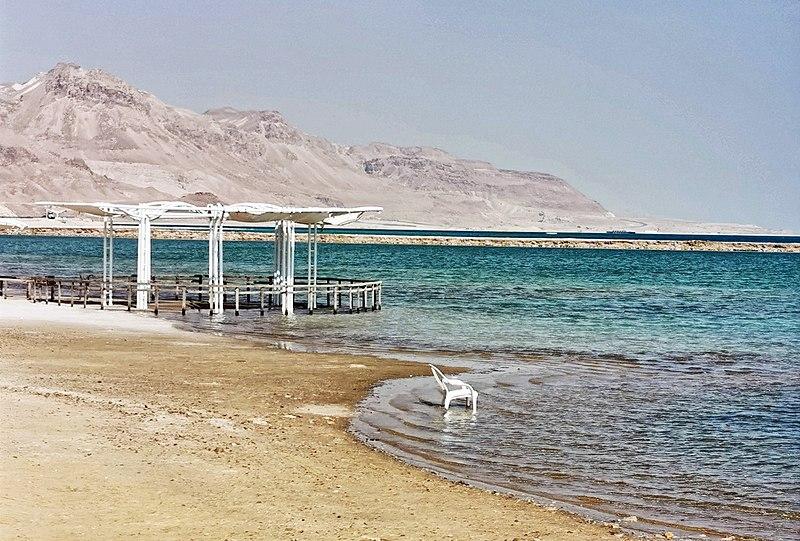 חוף רחצה בים המלח