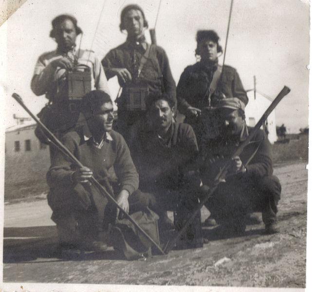 קורס קשרים/אלחוטנים חטיבת גולני 1948