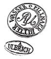 Pillnaer bitter wasser A. Ulbrich clay pot logo.png
