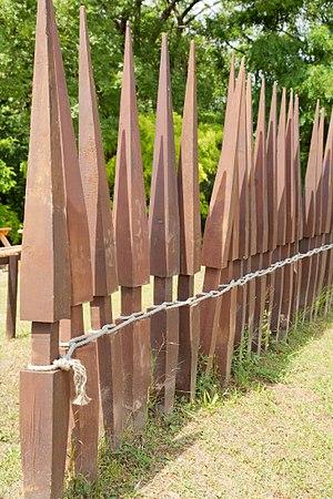 Sudis (stake) - Image: Pilum murale 02