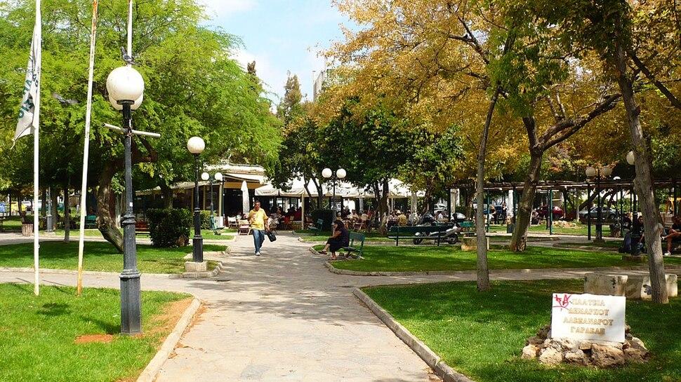 Pindou Square at Maroussi 2