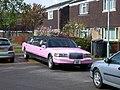 Pink stretch limo - geograph.org.uk - 774809.jpg