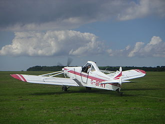 Piper PA-25 Pawnee - A British registered PA-25-260 Pawnee D in use as a glider tug