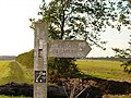 Pirton Footpath Waymarker - geograph.org.uk - 245098.jpg