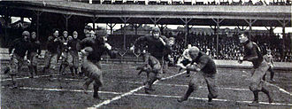 1908 college football season - Pitt vs. West Virginia