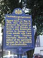 Pittsburgh Agreement Creates Czechoslovakia 1918 Plaque in 2004.jpg