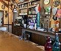 Pizzeria Chez Bernard, Saint-Laurent-en-Beaumont en juillet 2019 (comptoir).jpg