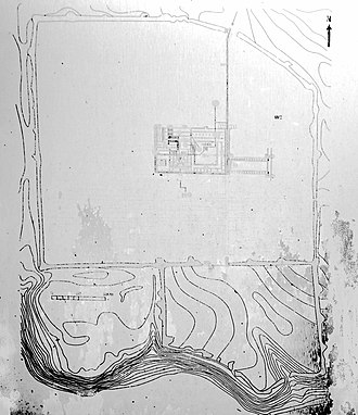 Nicopolis ad Istrum - Plan of Nicopolis showing excavated area and later city to the southeast