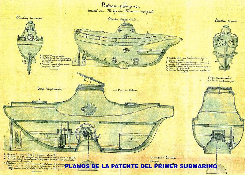Los Submarinos del s XIX 800px-Plano_submarino
