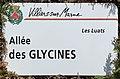 Plaque Allée Glycines - Villiers-sur-Marne (FR94) - 2021-05-07 - 1.jpg