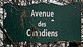Plaque Avenue Canadiens - Paris XII (FR75) - 2021-01-21 - 1.jpg