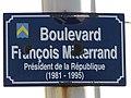 Plaque François Mitterand (Capbreton).jpg