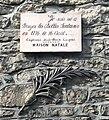 Plaque maison natale du Capitaine Coignet à Druyes-les-Belles-Fontaines.jpg