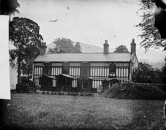 Plas Newydd, Llangollen - Image: Plas Newydd, Llangollen NLW3361509