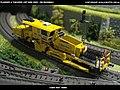 Plasser & Theurer USP 2000 SWS DB Bahnbau Kibri 16060 Modelismo Ferroviario Model Trains Modelleisenbahn modelisme ferroviaire ferromodelismo (14130666766).jpg