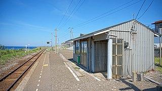 Kasose Station Railway station in Fukaura, Aomori Prefecture, Japan