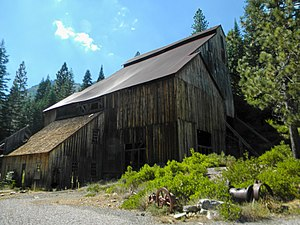 National Register of Historic Places listings in Plumas County, California - Image: Plumas Eureka Mill