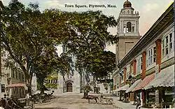 Town Square in 1910