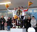 Podium élite du Championnat Régional Nord-Pas-de-Calais de cyclo-cross de Marles-les-Mines.jpg