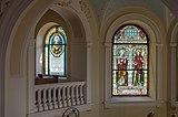 Poertschach Pfarrkirche hl Johannes Chor-Glasfenster Sponsor Semmelrock-Werzer 20082015 1473.jpg