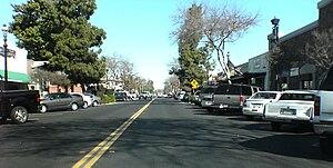 Clovis, California - Pollasky Avenue, Old Town Clovis