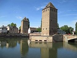 מגדלי השמירה העתיקים בשטרסבורג