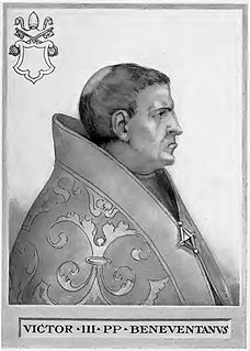 Pope Victor III pope