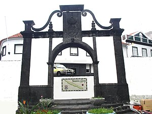 Velas - The City Gates of Velas, constructed during the 18th Century at the entrance to village at the Port of Velas