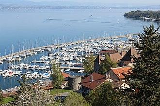 Haute-Savoie - Image: Port Rives Thonon Bains 4