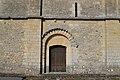 Porte latérale sud de l'église Saint-Vigor d'Asnières-en-Bessin.jpg