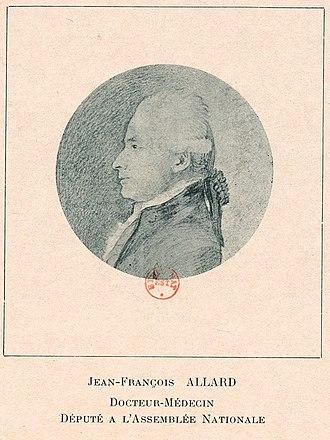 Louis-François Allard - Portrait of Louis-François Allard