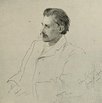 George Gissing - Portrait of Gissing in 1901.