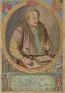 Portrait of Heinrich Khunrath. Amphitheatrum sapientiae aeternae Wellcome L0050107 (cropped).jpg